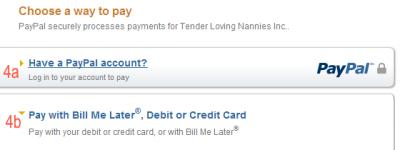 Pay Online – Tender loving nannies